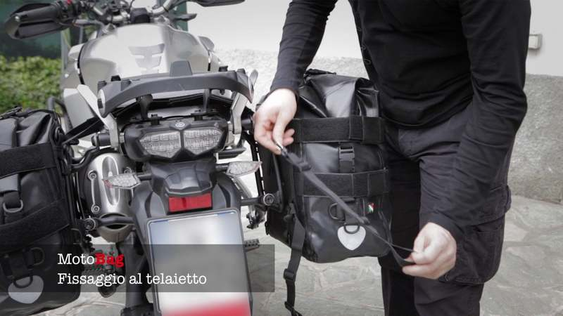 MotoBag - Fissaggio telaietto
